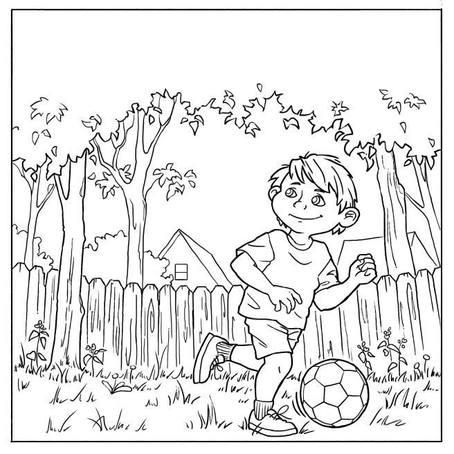 Hector Coloring Page 1