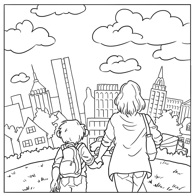 Hector Coloring Page 3