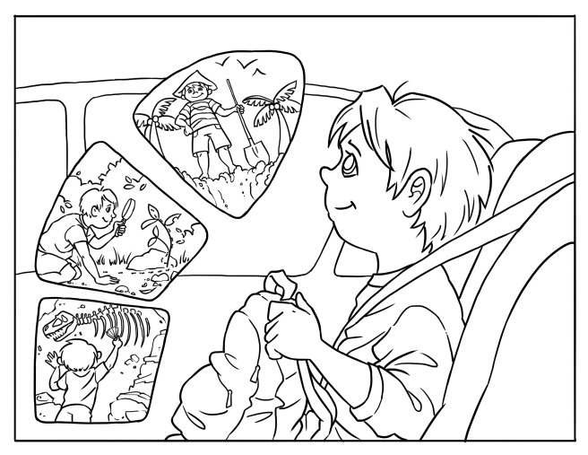 Hector Coloring Page 4