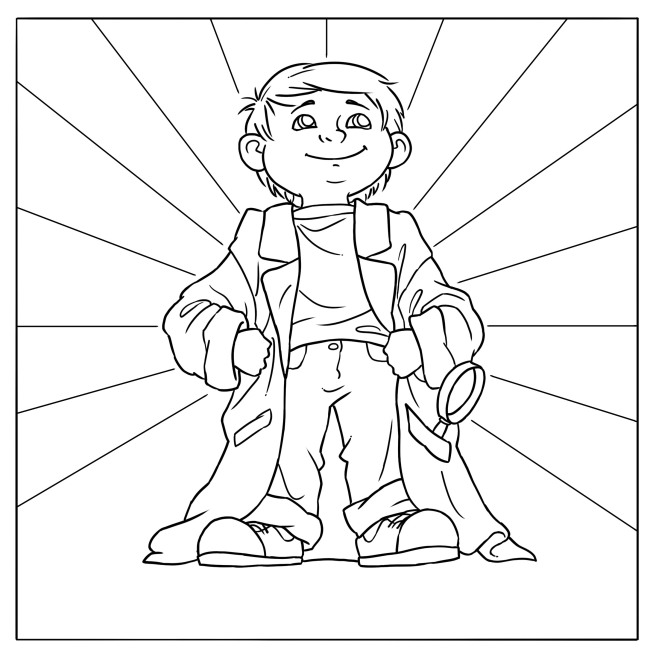 Hector Coloring Page 5